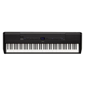 Yamaha 88-Key Black Digital Piano With Polished Ebony Accents, PA300C Power Adapter & FC4A Sustain Pedal