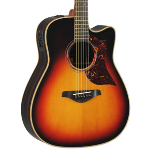 Yamaha A-Series All Solid Dreadnought With Electronics - Vintage Sunburst