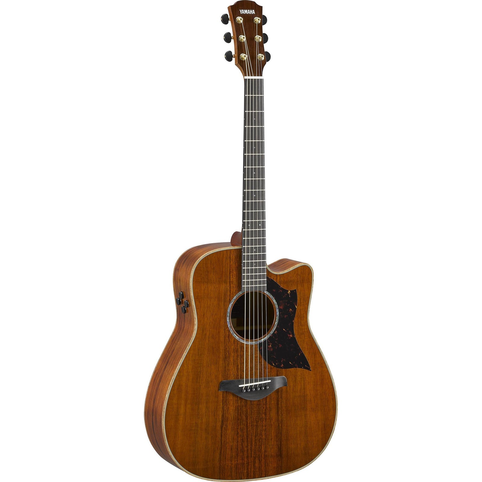Yamaha A4KII Limited Edition Solid Koa Acoustic/Electric - Natural