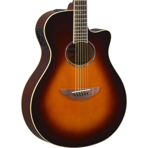 Yamaha APX600 Thinline Acoustic - Old Violin Sunburst