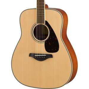 Yamaha Folk Guitar FG820 - Solid Sitka Spruce Top - Natural