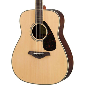 Yamaha Folk Guitar FG830 - Solid Sitka Spruce Top - Natural