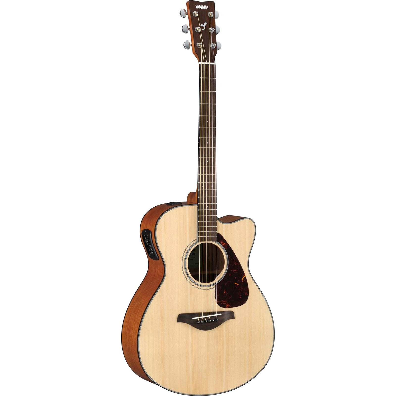Yamaha FSX800C Solid Top Small Body Cutaway - Natural
