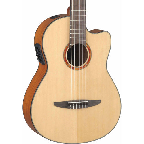 Yamaha NCX700 Classical Cutaway Acoustic Electric - Natural