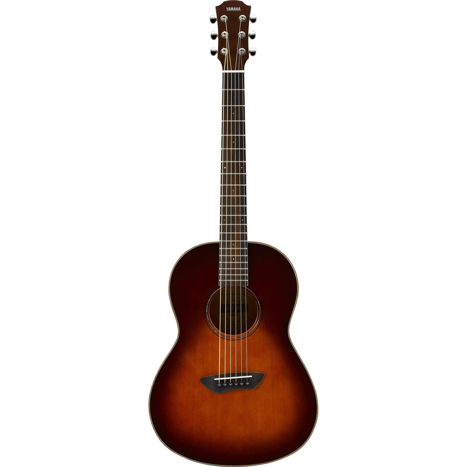 Yamaha Parlor Acoustic Electric All-Solid - Tobacco Brown Sunburst