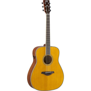Yamaha Transacoustic Dreadnought Acoustic-Electric - Vintage Tint