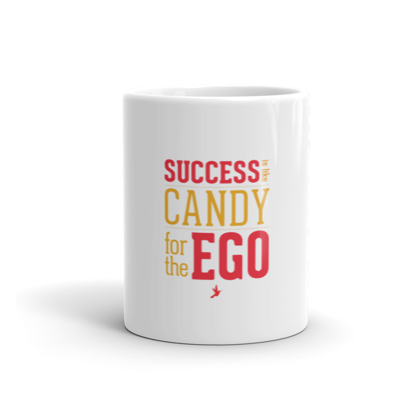 Success Candy White Mug - Seeing True