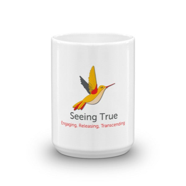 Seeing True Hummingbird Mug - Seeing True