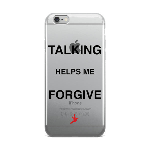 Talking Helps Me Forgive iPhone case - Seeing True