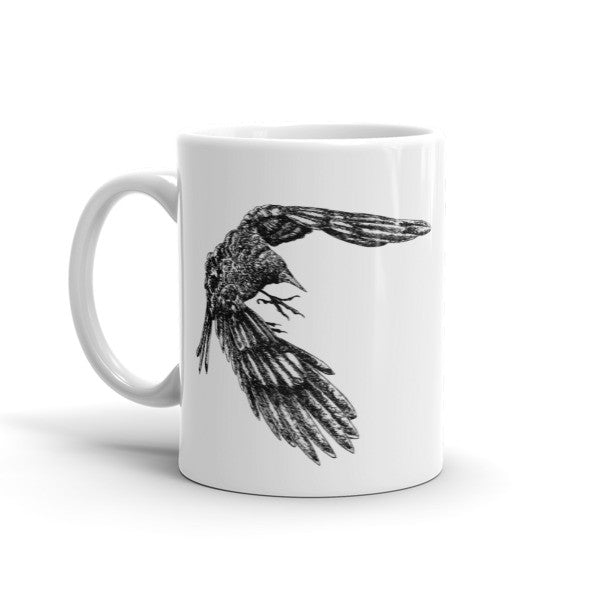 Mac Crow Mug - Seeing True