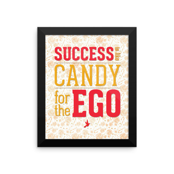 Success Candy Framed Photo Paper Poster - Seeing True