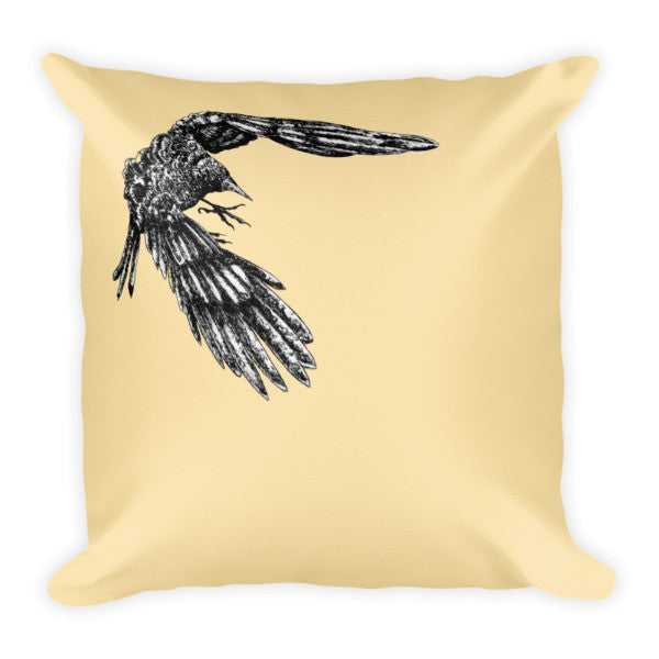 Mac Crow Pillow - Seeing True