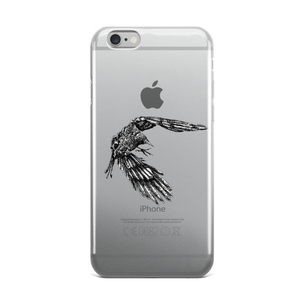 Mac Crow iPhone case - Seeing True