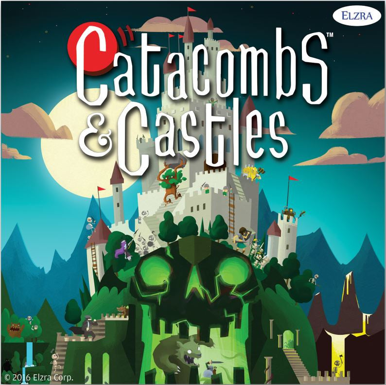 Catacombs & Castles Kickstarter Campaign is funded!