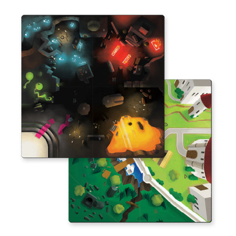 Catacombs & Castles Mega Playmat Bundle (plus Royal Archer hero cards)