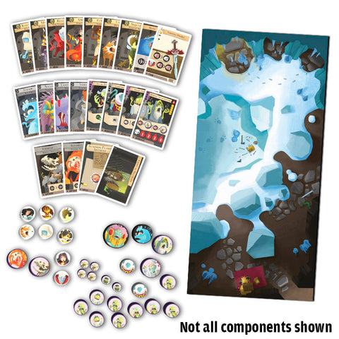 Catacombs Resurrection KS GAME BOARD Bundle