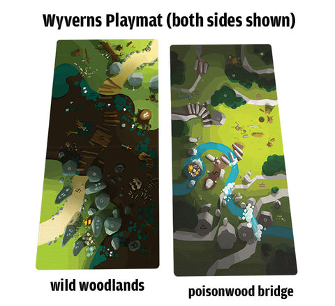 Wyverns of Wylemuir KS Playmat for Catacombs 3E