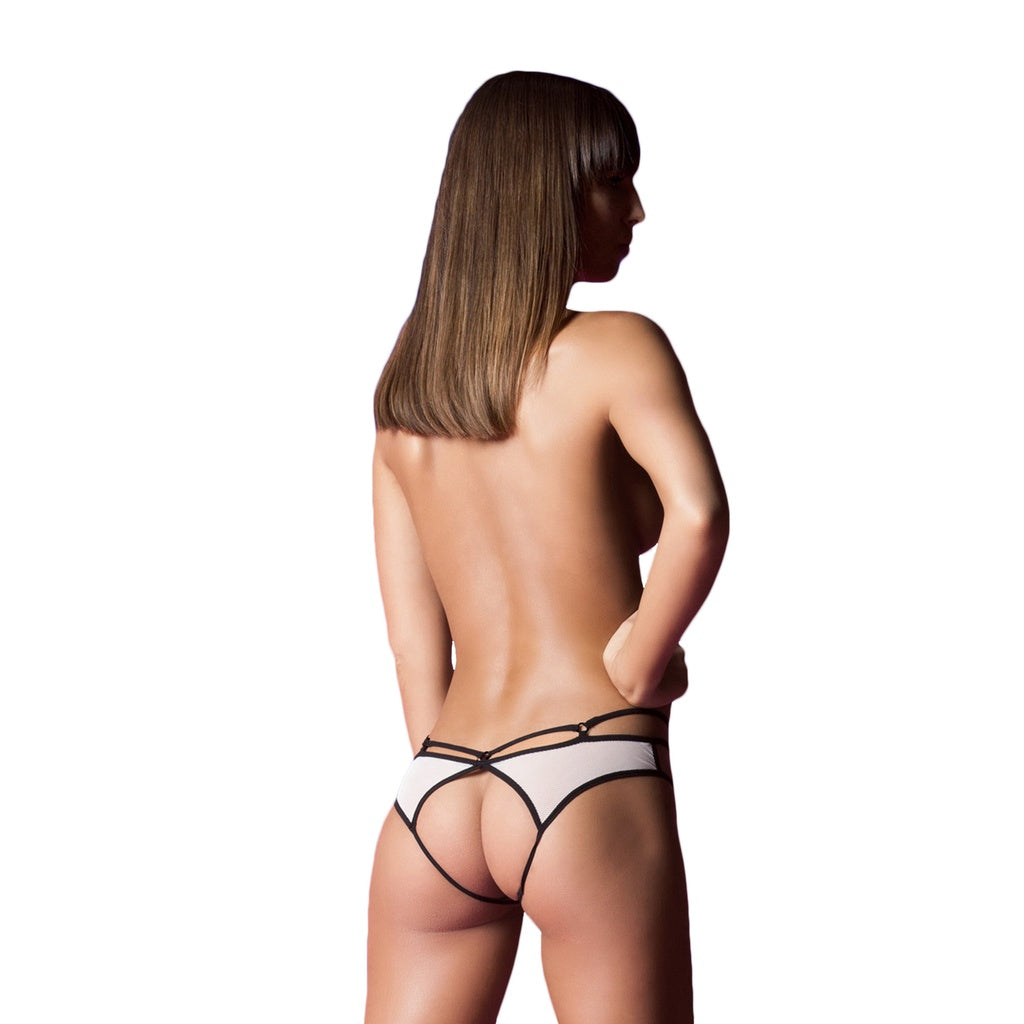 Ring True Strappy Cage Panty