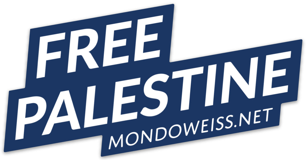 Free Palestine vinyl die-cut sticker - one or a discounted pack of ten
