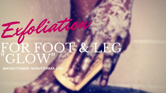 "Exfoliation For Foot and Leg ""GLOW"""