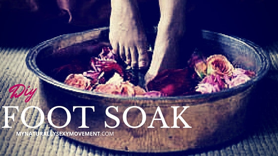 DIY Detoxifying Foot Soak