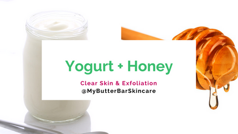 Yogurt and Honey Easy DIY Face Mask- The Butter Bar Skincare
