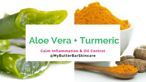 Aloe and Turmeric Easy DIY Face Mask- The Butter Bar Skincare