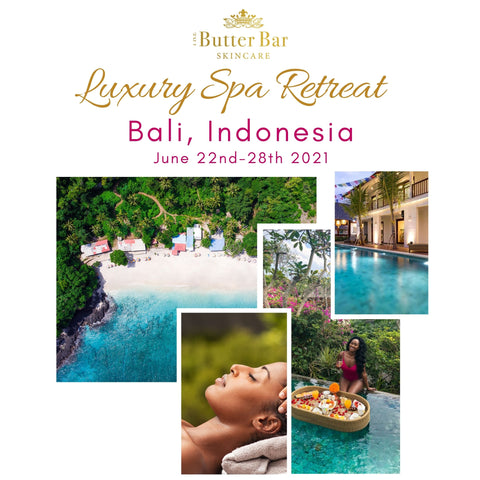 The Butter Bar Skincare Bali Luxury Spa Weekend 2021