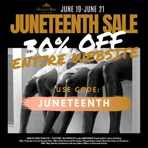 Juneteenth Sale 30% off entire site