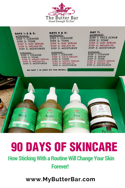 90 Days of Skincare