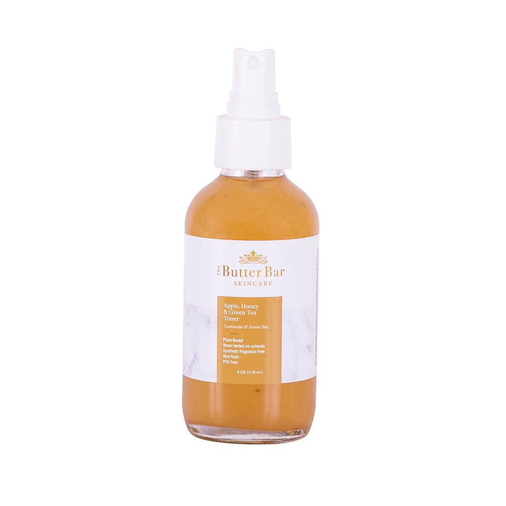 Apple, Honey and Green Tea Face Toner (Combo/Normal Skin) - Natural Skincare