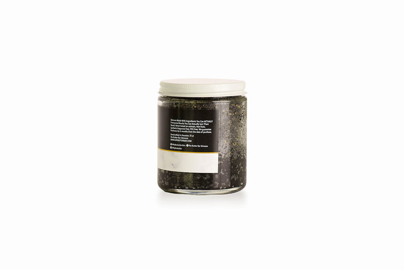 Black Lava & Lemon Detoxifying Scrub - Natural Skincare