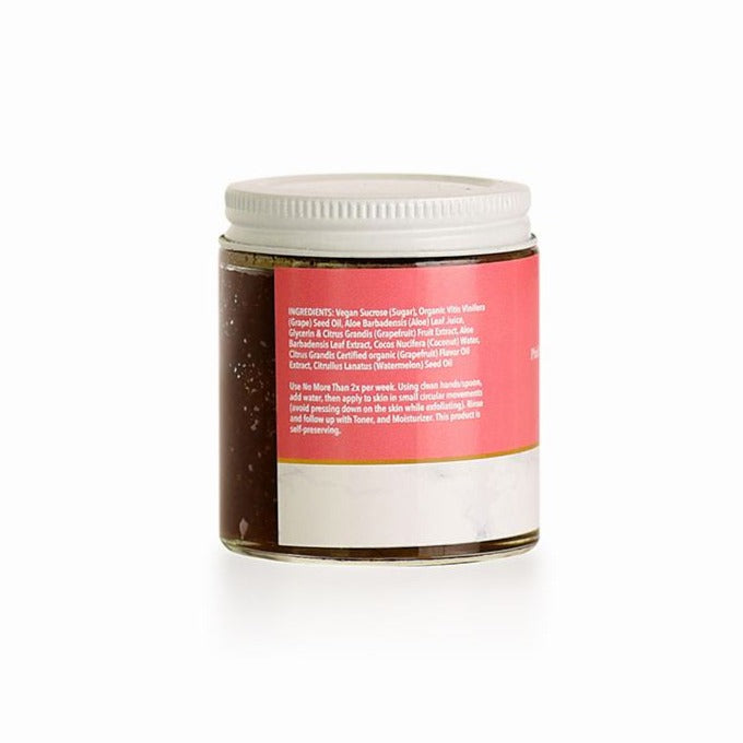 Pink Grapefruit & Watermelon Hydrating Scrub (Dry Skin) - Natural Skincare