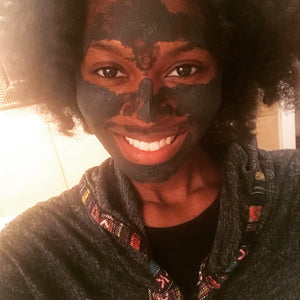 Charcoal-Moringa Clay Detoxifying Mask - The Butter Bar:100% Natural Skincare