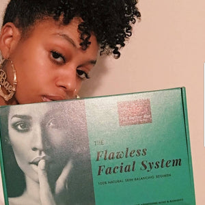The Flawless Facial System-Advanced VEGAN (Acne & Dark Spots) - The Butter Bar:100% Natural Skincare