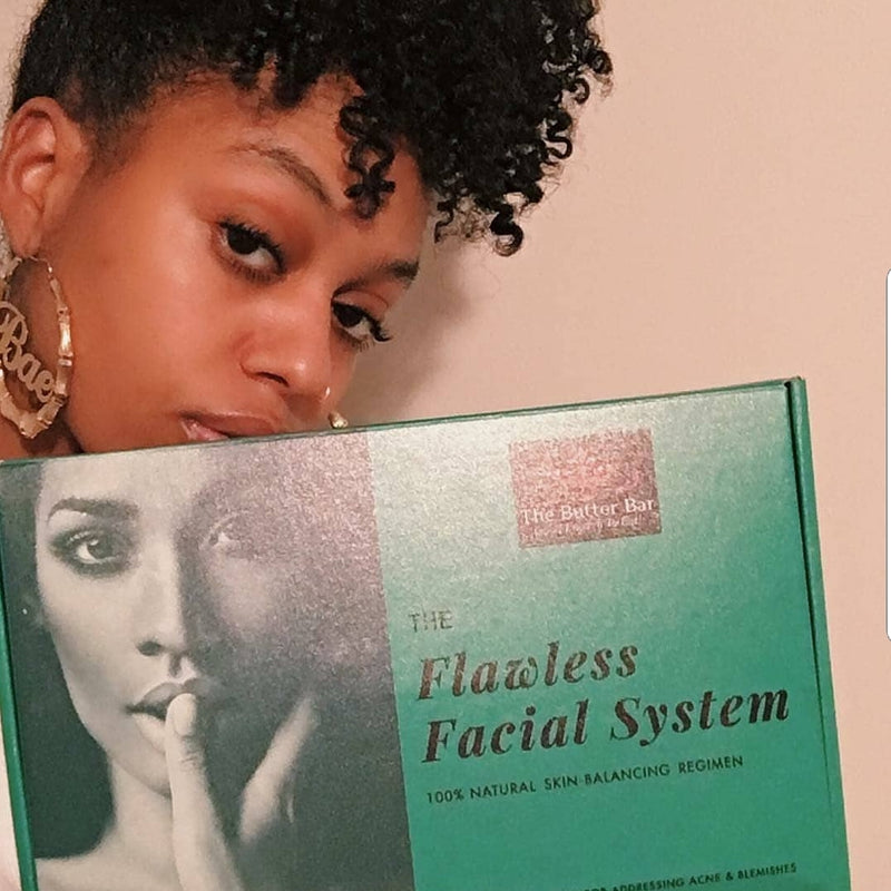 The Flawless Facial System Acne Kit VEGAN (for Oily Skin) - Natural Skincare