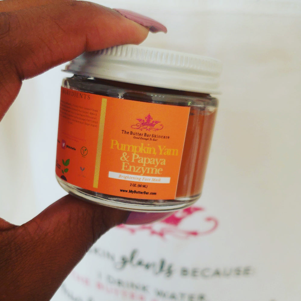 Pumpkin, Yam & Papaya Enzyme Face Mask - The Butter Bar:100% Natural Skincare