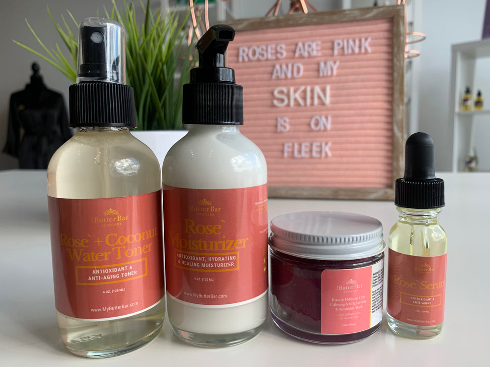 Rose & Coconut Water Youthful Glow Set