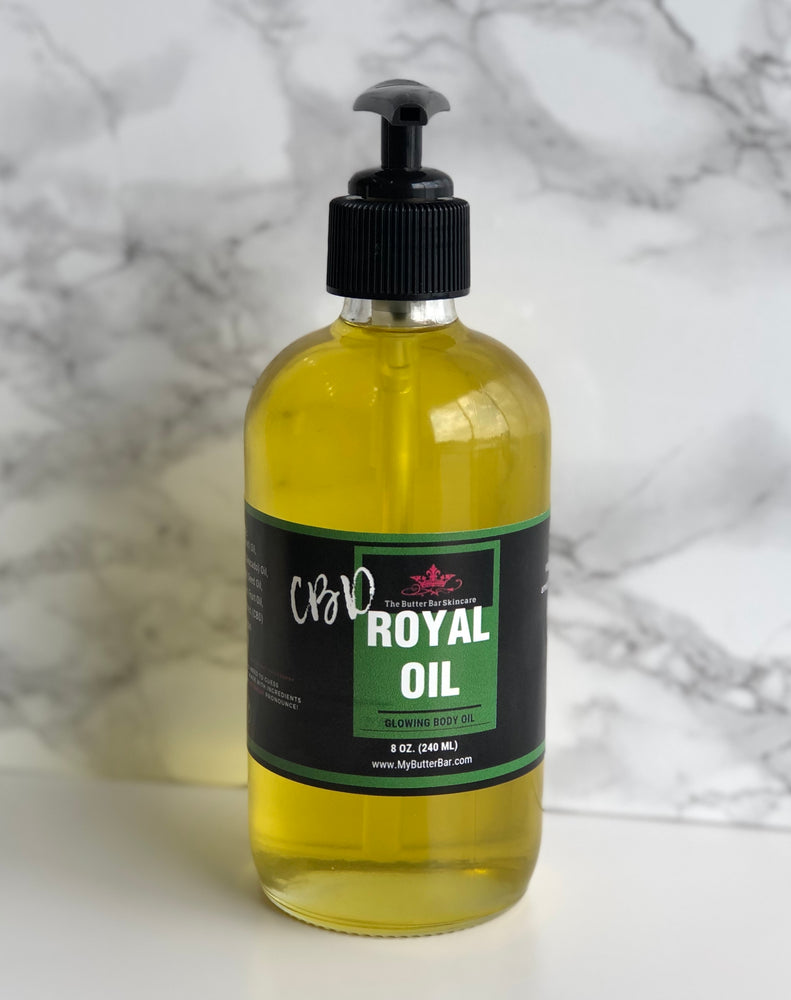CBD Royal Oil Glowing Body Oil - Natural Skincare