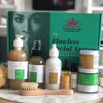 The Flawless Facial System-COMPLETE VEGAN Acne & Hyperpigmentation  (for Oily Skin)
