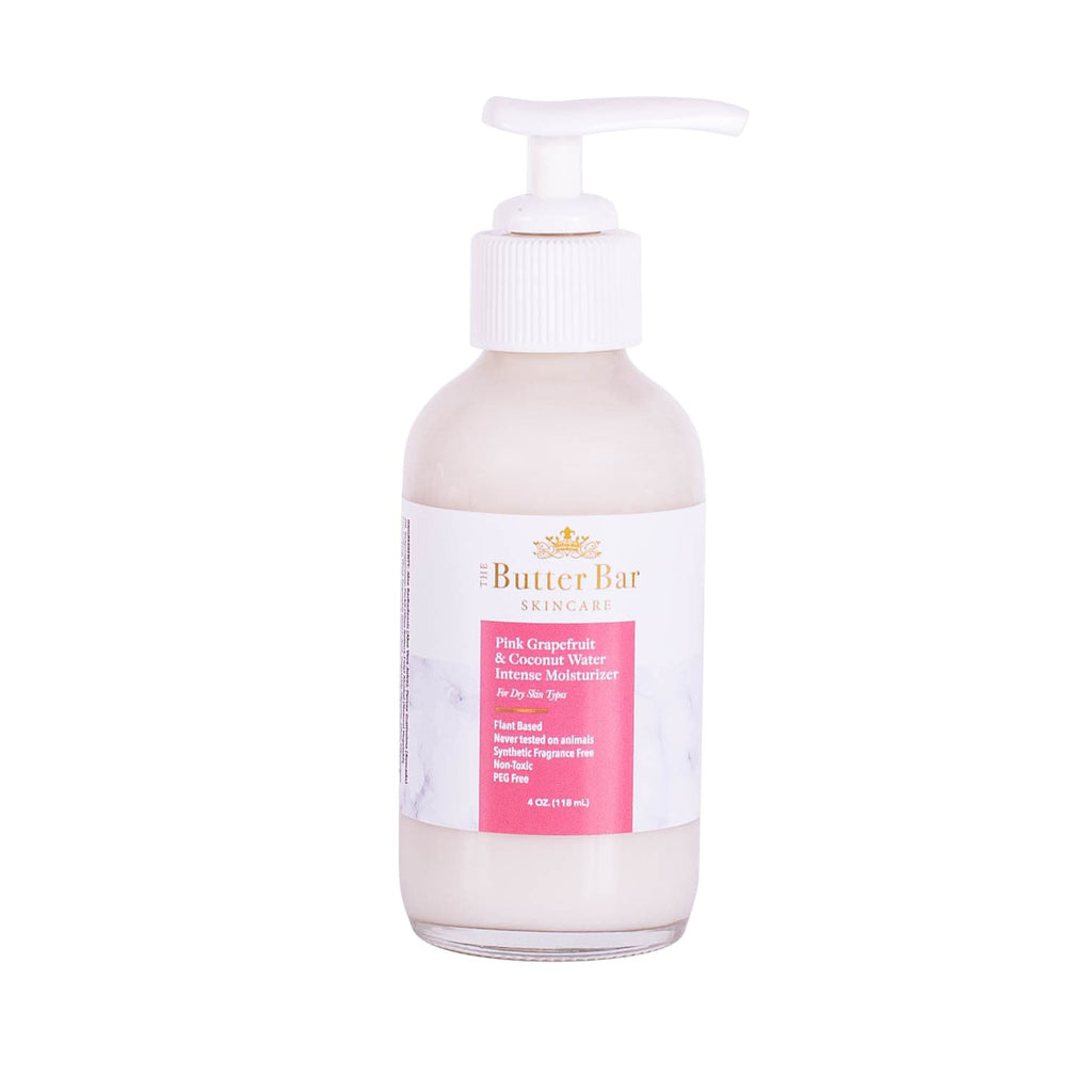 Pink Grapefruit & Coconut Water Intense Moisturizer (Dry Skin) - Natural Skincare