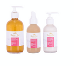 Pink Grapefruit and Coconut Water Kit (Dry Skin) - Natural Skincare