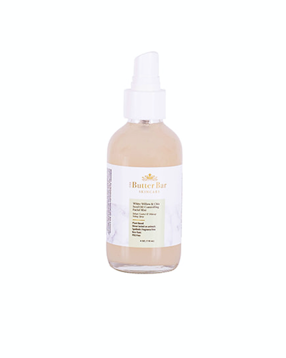 White Willow & Chia Seed Oil-Controlling Facial Mist - Natural Skincare