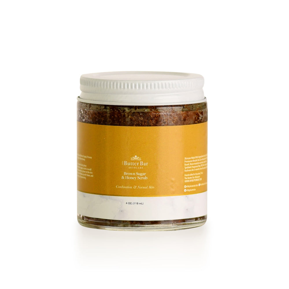 Brown Sugar & Honey Scrub - Natural Skincare