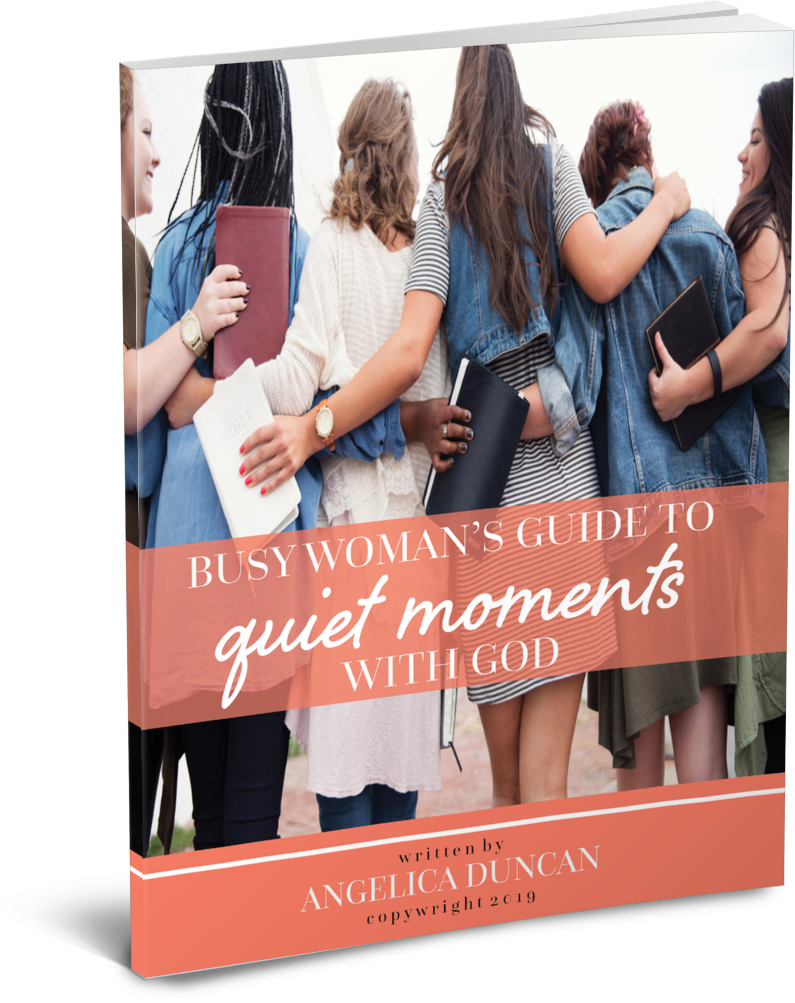 Busy Woman's Guide To Quiet Moments With God