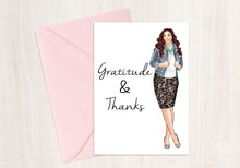 Load image into Gallery viewer, Gratitude & Thanks Set (Red Head)