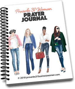 Proverbs 31 Woman Prayer Journal - LIMITED TIME OFFER