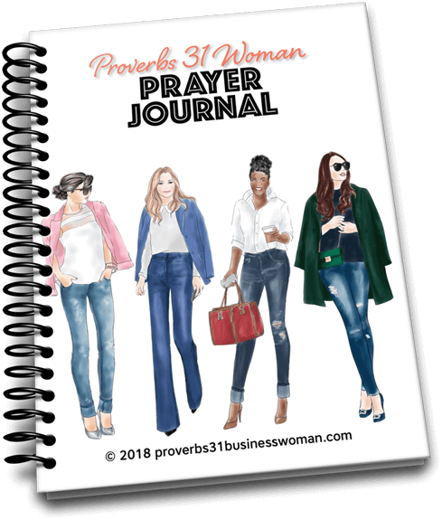 Proverbs 31 Woman Prayer Journal - REGULAR PRICE