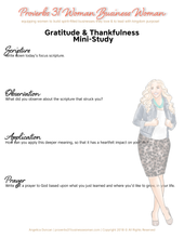 Load image into Gallery viewer, Gratitude & Thanks Set (Blonde)