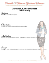 Load image into Gallery viewer, Gratitude & Thanks Set (Brunette)